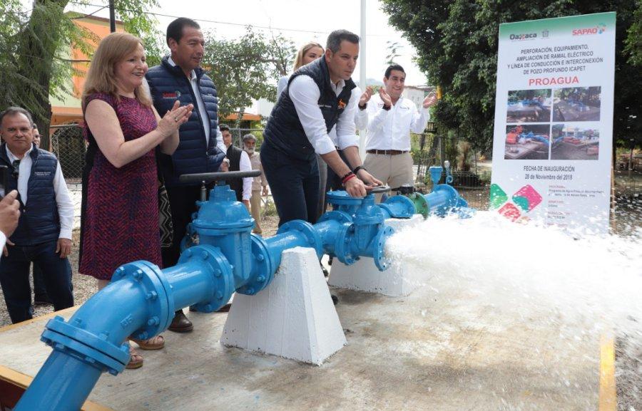 El fortalecimiento de la infraestructura hídrica de Oaxaca, un compromiso del gobierno de Murat