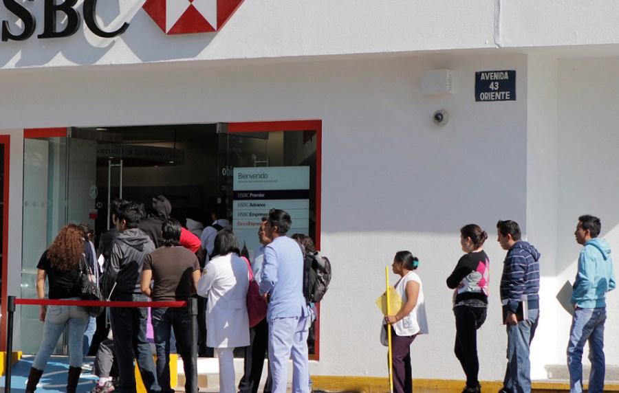Bancos de México no abrirán al público el primero de enero de 2019
