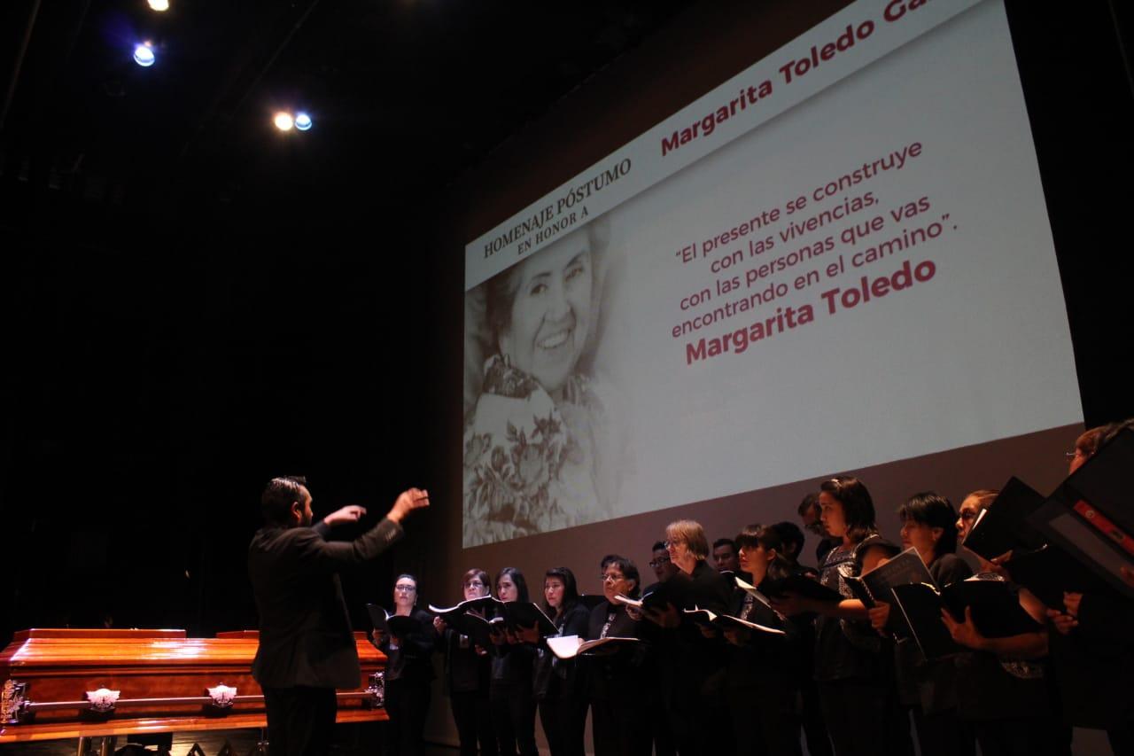 Rinde Seculta homenaje póstumo a Margarita Toledo