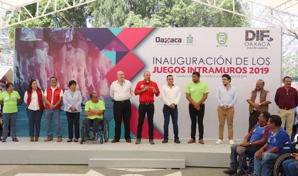 Inauguran los Juegos Intramuros DIF 2019