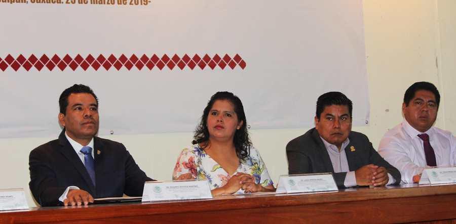 Firman convenio de colaboración Congreso del Estado de Oaxaca y UABJO