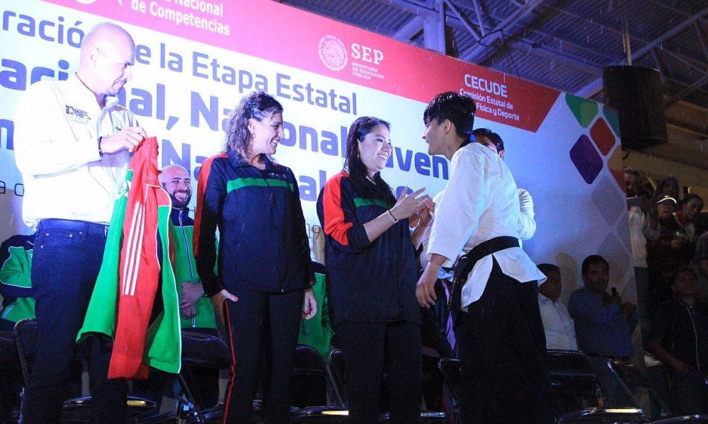 Inicia la Olimpiada Nacional, Nacional Juvenil y Paralimpiada 2019, en su etapa estatal