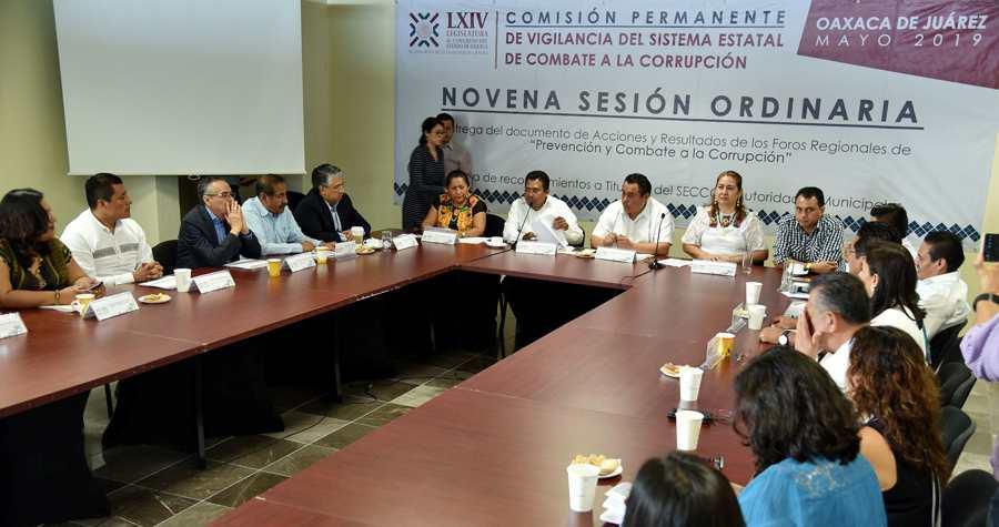 Busca Legislativo erradicar corrupción también a nivel municipal