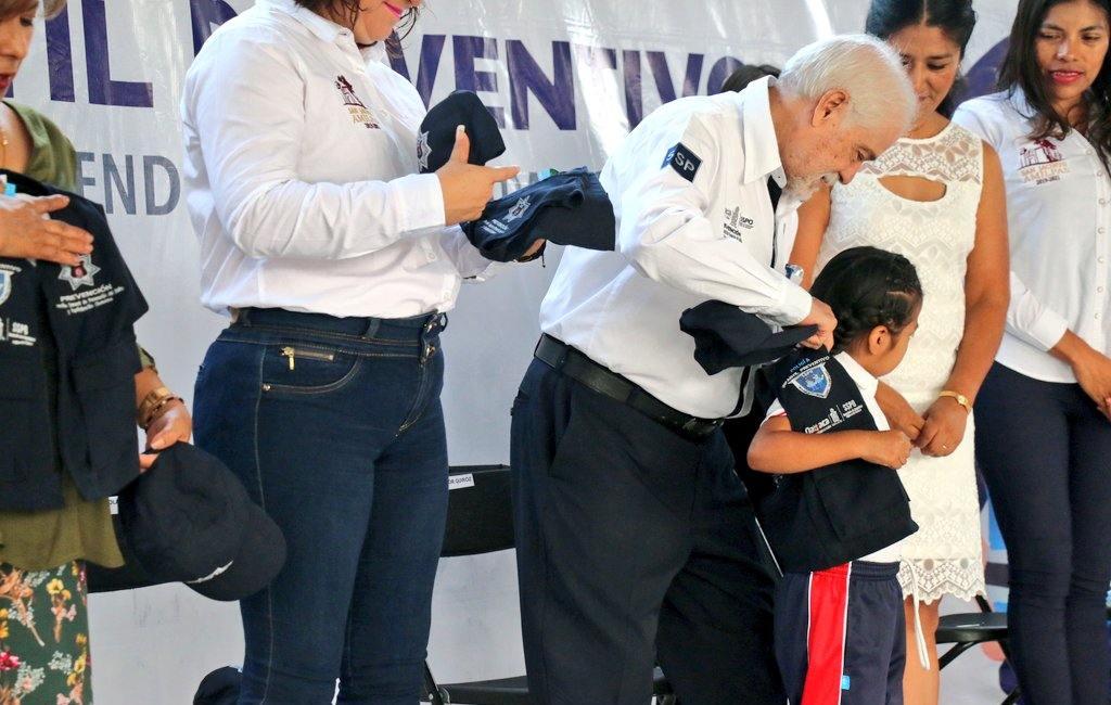 """Lleva SSPO el subprograma """"Policía Infantil Preventivo"""" a San Jacinto Amilpas"""