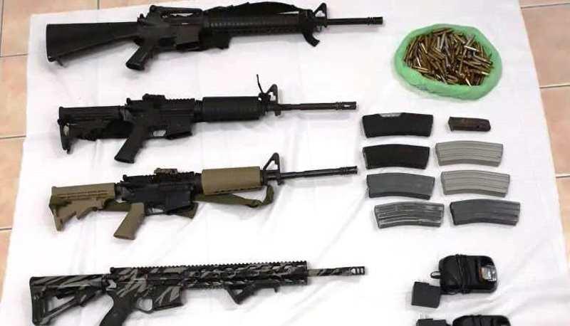 Confiscan la Policía Estatal y el Ejército Mexicano armas de grueso calibre