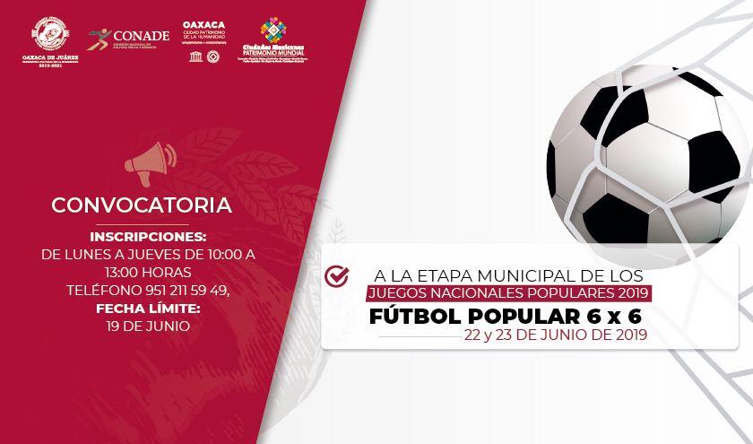 Invita Gobierno capitalino a participar en los Juegos Nacionales Populares 2019