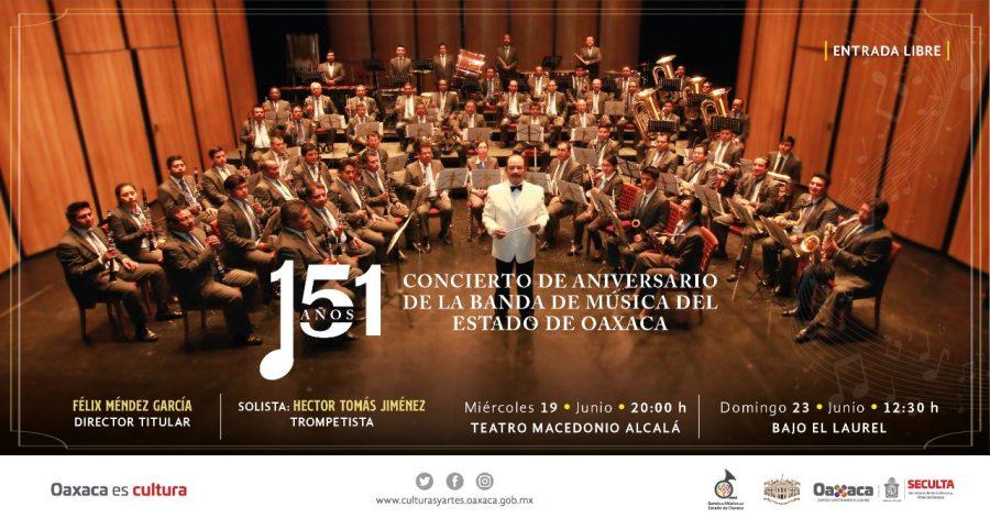 Celebrará Seculta el 151 aniversario de la Banda de Música del Estado