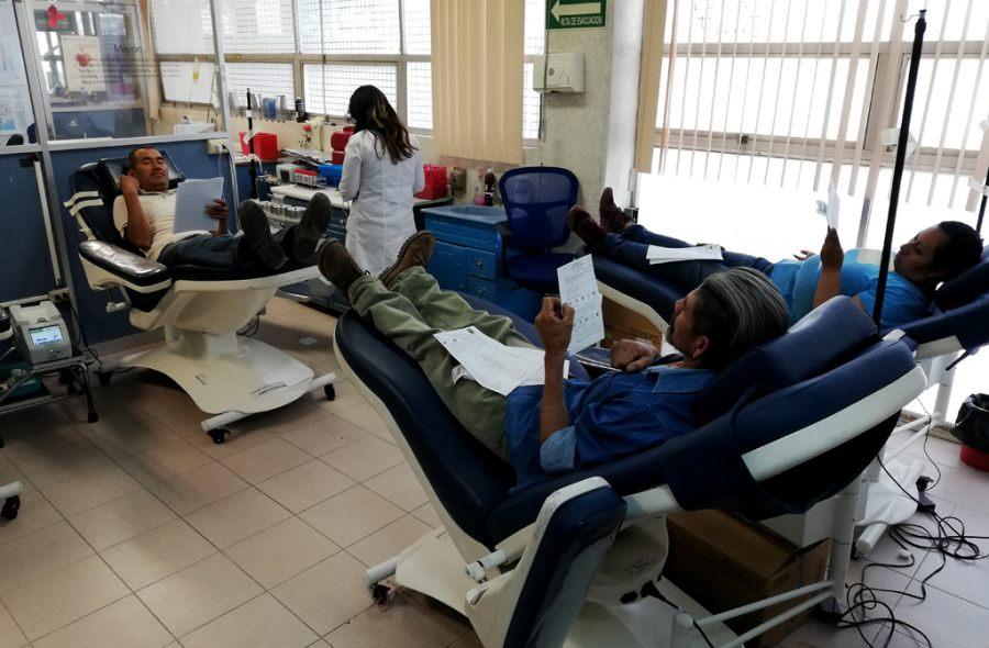 Promueve SSO donación de sangre altruista