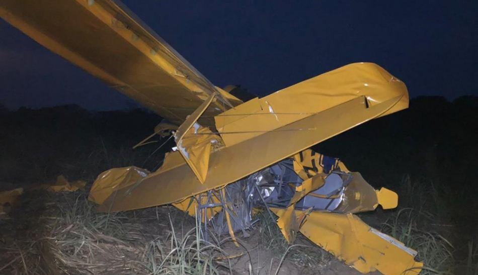 Se desploma avioneta en Oaxaca, el piloto huye