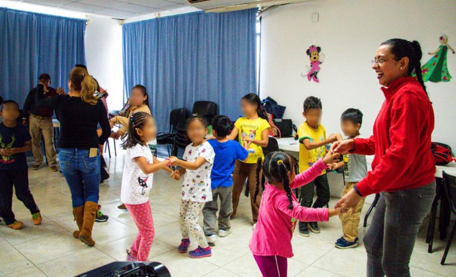 Hijas e hijos de policías conforman el Primer Curso de Verano dirigido a integrantes de la SSPO
