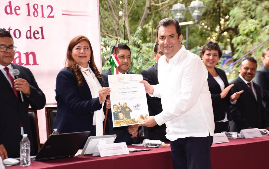 Reafirma edil Oswaldo García lazos de hermandad con Huajuapan de León