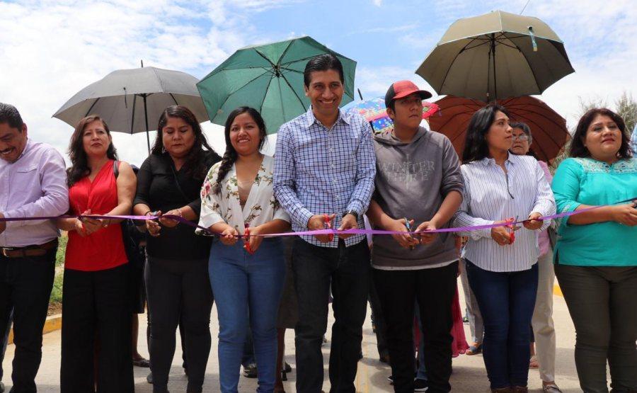 Mejora ALJ vías de acceso a Santa Cruz Xoxocotlán