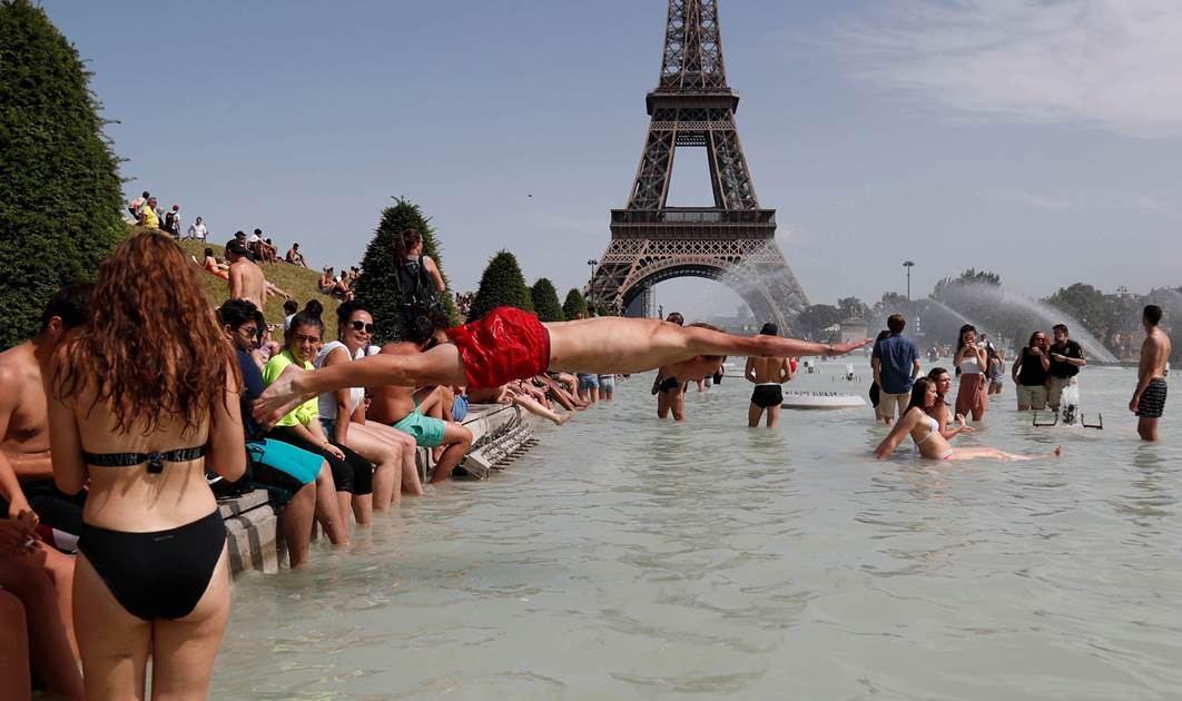 Segunda ola de calor sofoca a Europa