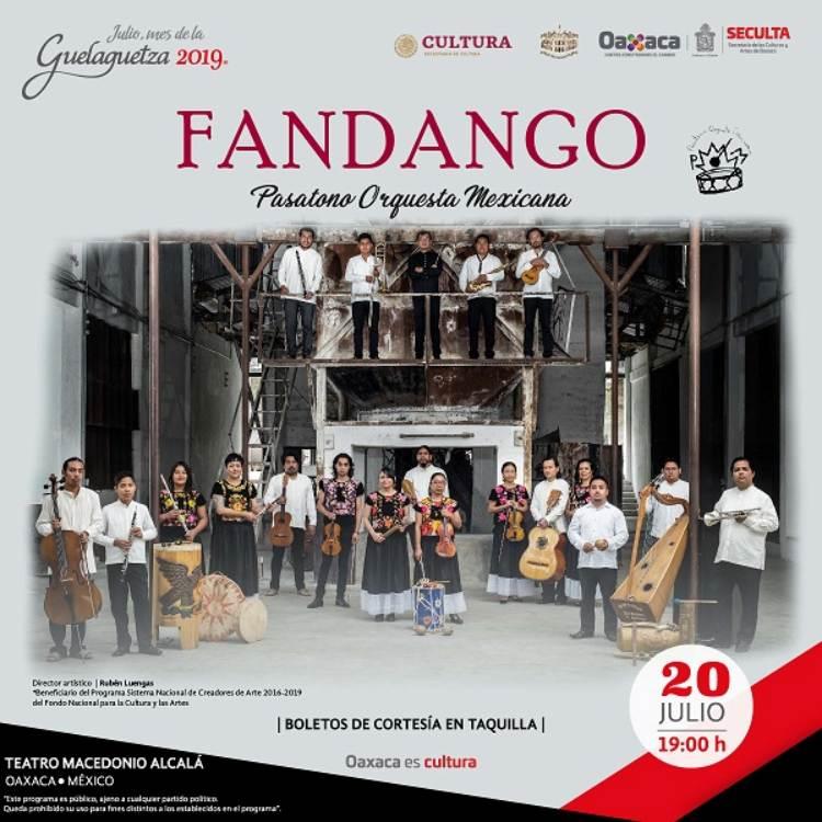 Invita Seculta a disfrutar de los eventos culturales  de este sábado 20 y domingo 21 de julio en Oaxaca