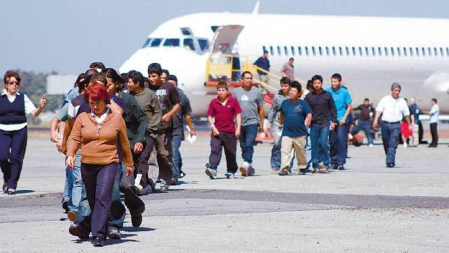 Oaxaca y Michoacán, con el mayor número de deportados de EU