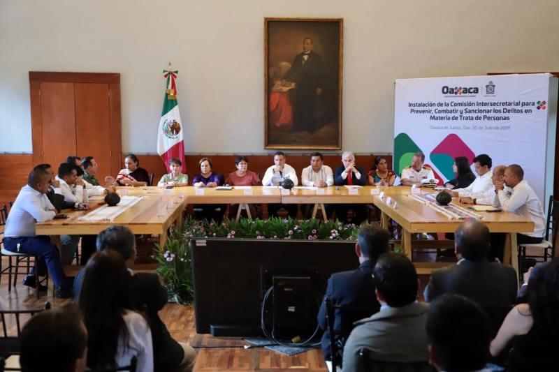 Cierra filas Gobierno de Oaxaca en el combate a la Trata de Personas