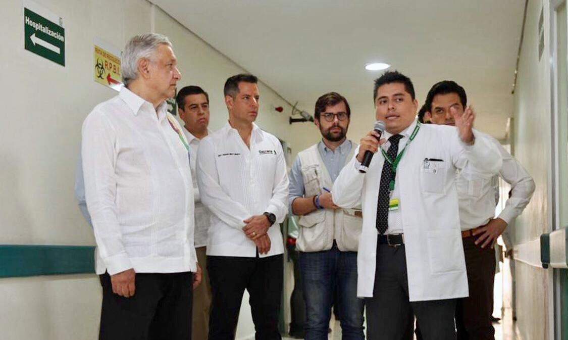 Oaxaca se suma a la reconstrucción del Sistema de Salud en México:Alejandro Murat
