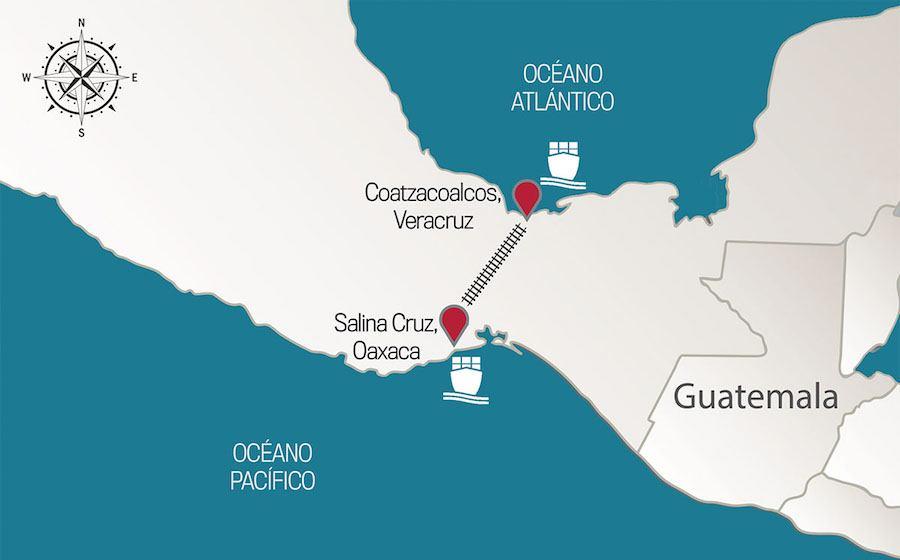 Europeos buscan invertir en el proyecto del Corredor del Istmo de Tehuantepec
