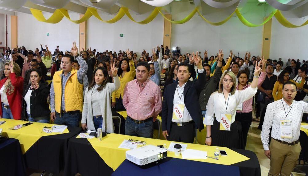 PRD aprueba XVI Congreso Nacional Extraordinario con miras a consolidar una nueva plataforma política