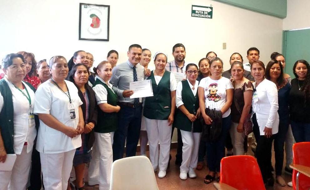 Hospital IMSS Bienestar 36 de Tlacolula festeja 39 años de servicio