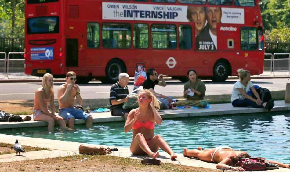 Reino Unido rompe récord de temperatura de verano