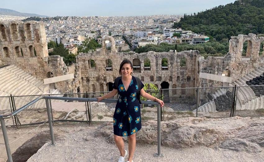 Médicos oaxaqueños ejemplares estuvieron en Grecia