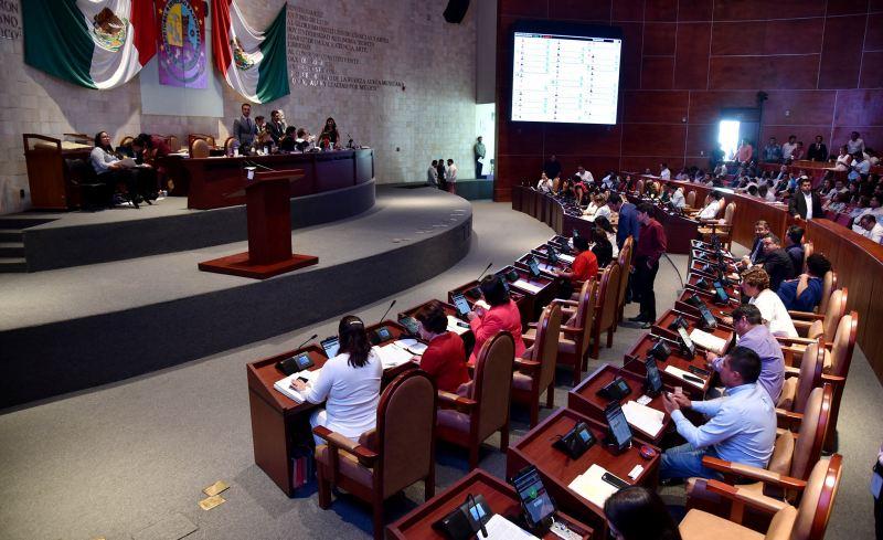 Exigen grupos parlamentarios frenar violencia política contra diputada local Elisa Zepeda