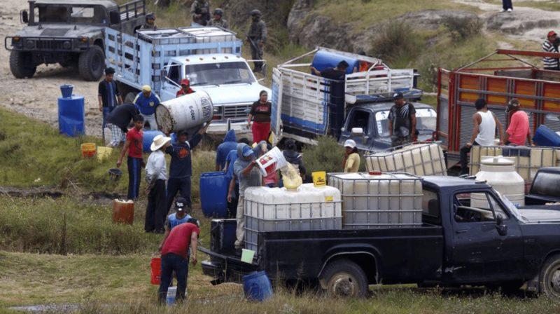 Neutralizan autoridades más de ocho mil tomas clandestinas de huachicol en lo que va del año