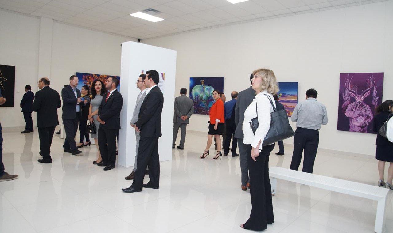"""Abren al público exposición """"Dualidad"""" del artista oaxaqueño Carlos Bazan y Damasco en Ciudad Juárez"""
