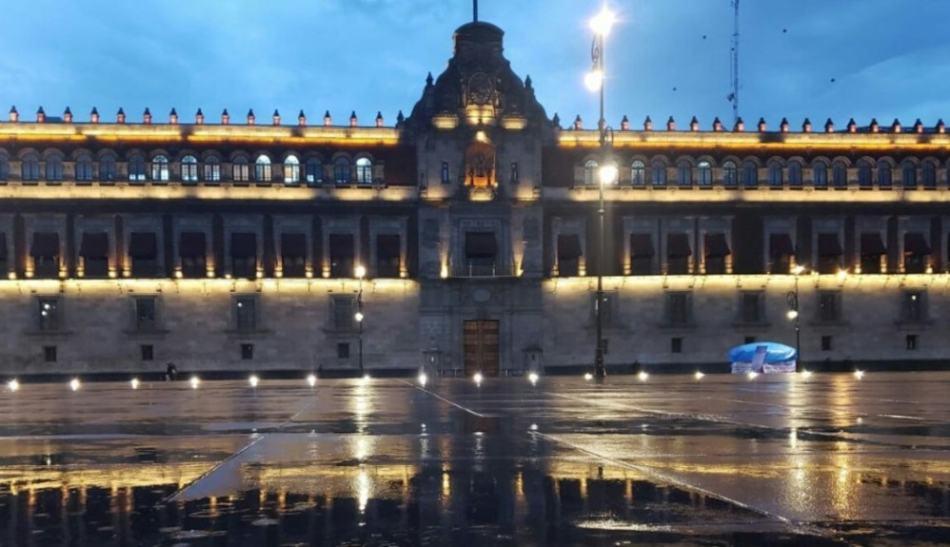 AMLO ya se mudó a Palacio Nacional