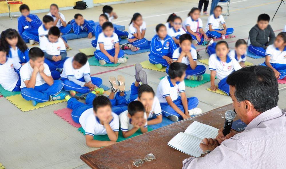 Respalda IEEPO estrategias para motivar el hábito de la lectura en la niñez y juventud