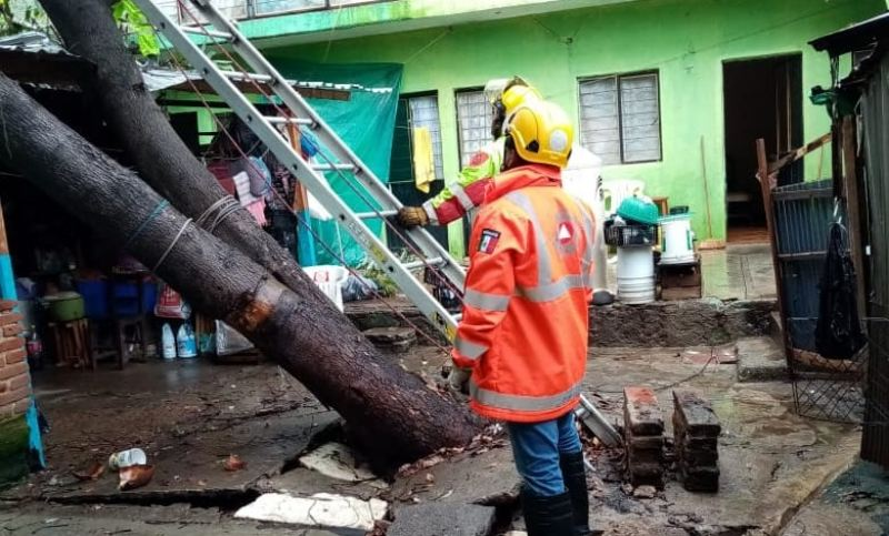 Activa Protección Civil Municipal operativo para  atender afectaciones por lluvias