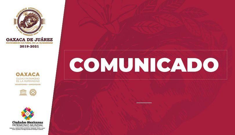 Ayuntamiento de Oaxaca de Juárez anuncia cambios en Direcciones
