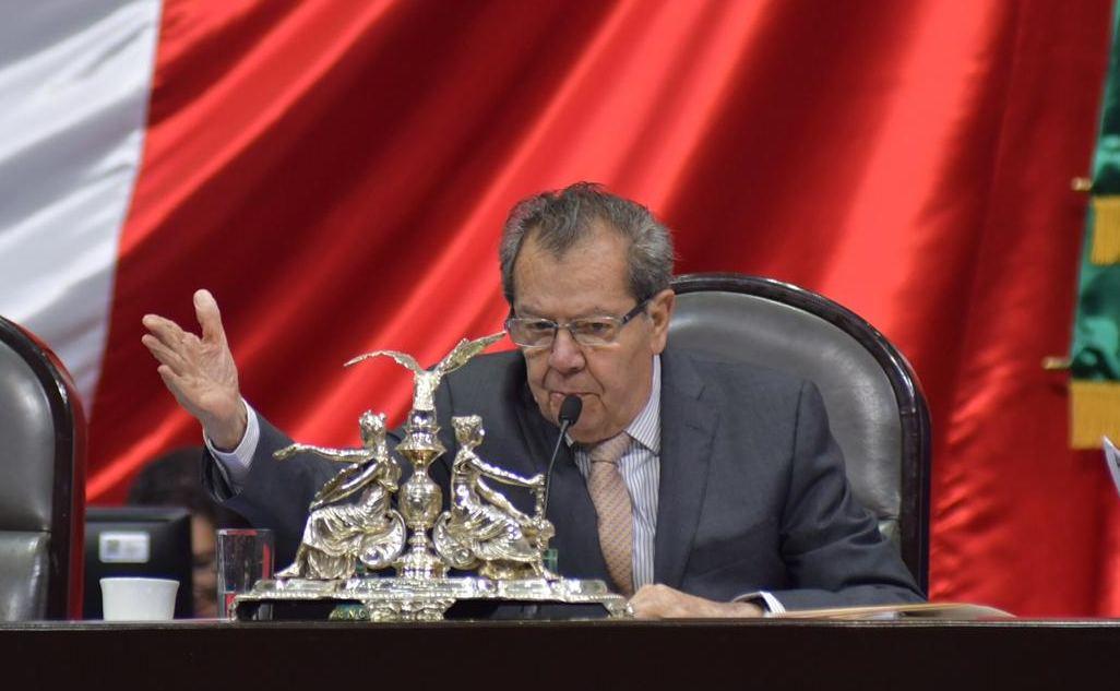 Buscará Muñoz Ledo reelección como presidente de los diputados
