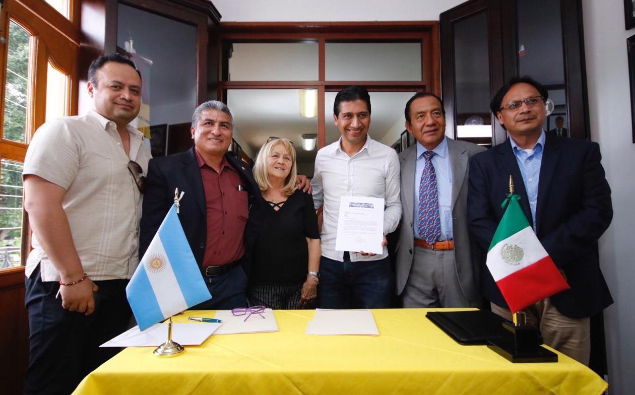 Reconocerán labor municipal de Alejandro López Jarquín en Senado de Argentina