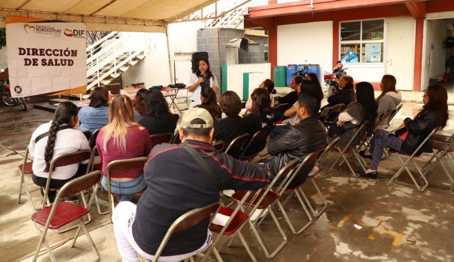 Realizan jornada de prevención y atención de enfermedades de transmisión sexual en Xoxocotlán