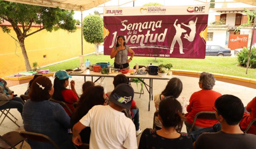 Celebran la Semana de la Juventud en Xoxocotlán