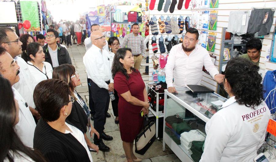 "En la Alameda de León inició la ""Feria de Regreso a Clases 2019"""