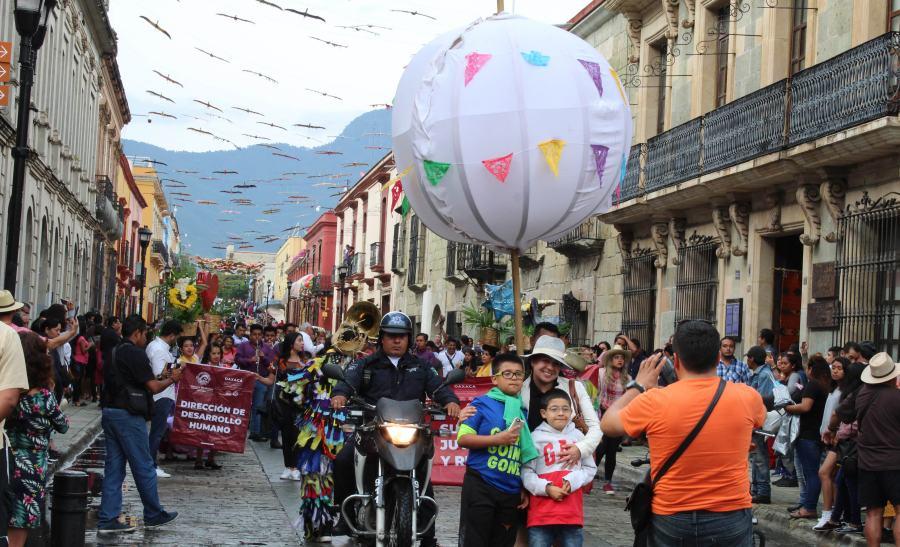 """Inician en Oaxaca de Juárez actividades de """"Agosto, Mes de la Juventud"""""""