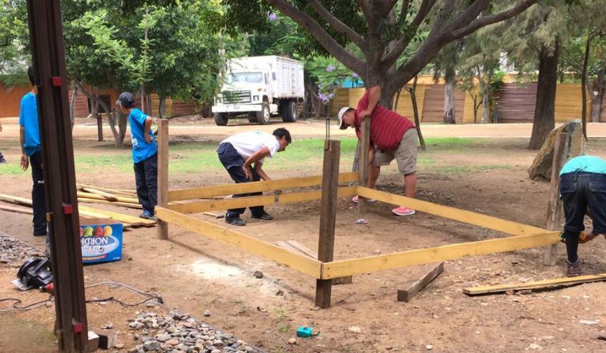 Sociedad civil se suma al cuidado del Parque Ciudad de las Canteras