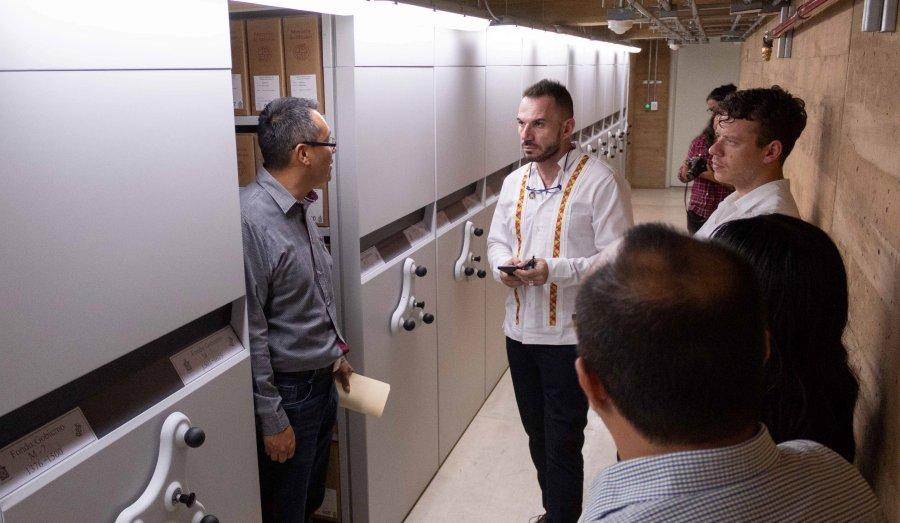 Resalta UNESCO labor de preservación y difusión documental del AGEO
