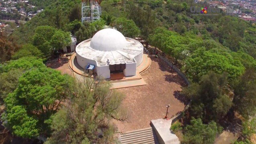 Realizan trabajos de remodelación en Planetario Nundehui