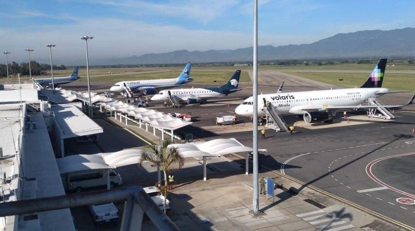 Récord histórico en el aeropuerto internacional de Oaxaca