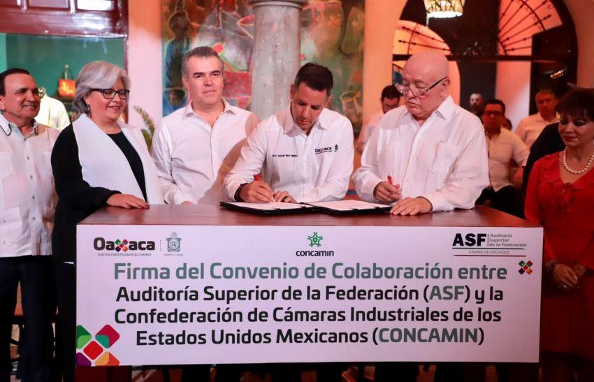 Oaxaca se suma a acciones de combate a la corrupción y uso transparente de recursos públicos