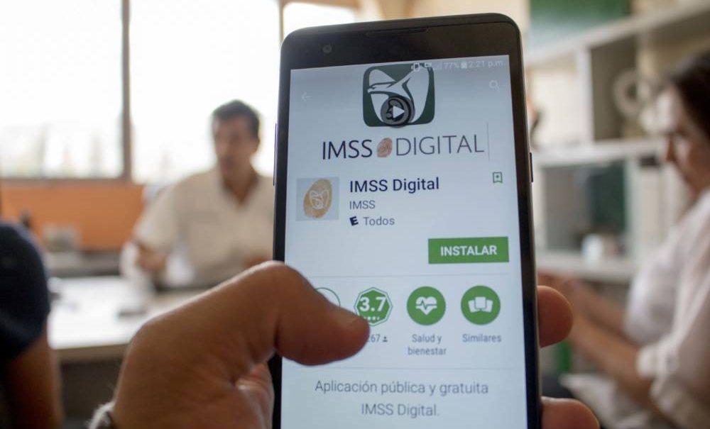 IMSS digital busca reducir tiempo en trámites a derechohabientes