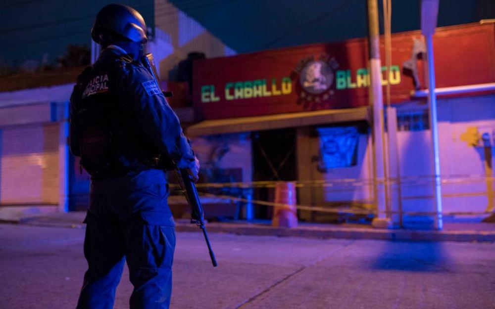 Suman 29 muertos por ataque en bar de Coatzacoalcos