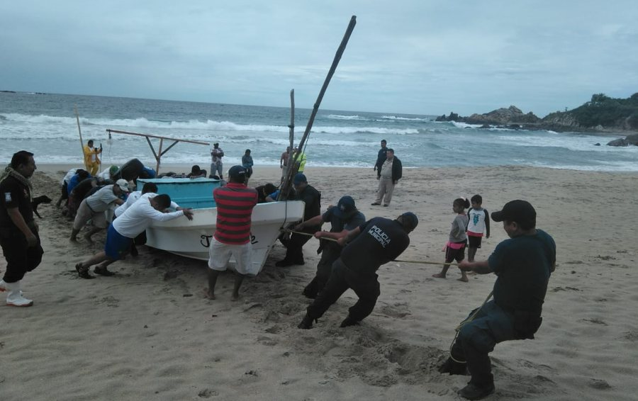 Gracias a operativo fueron rescatados 4 pescadores: CEPCO