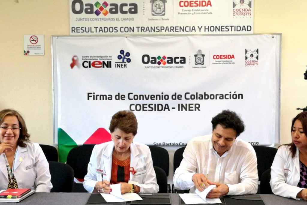 Suscriben convenio de colaboración Coesida e INER