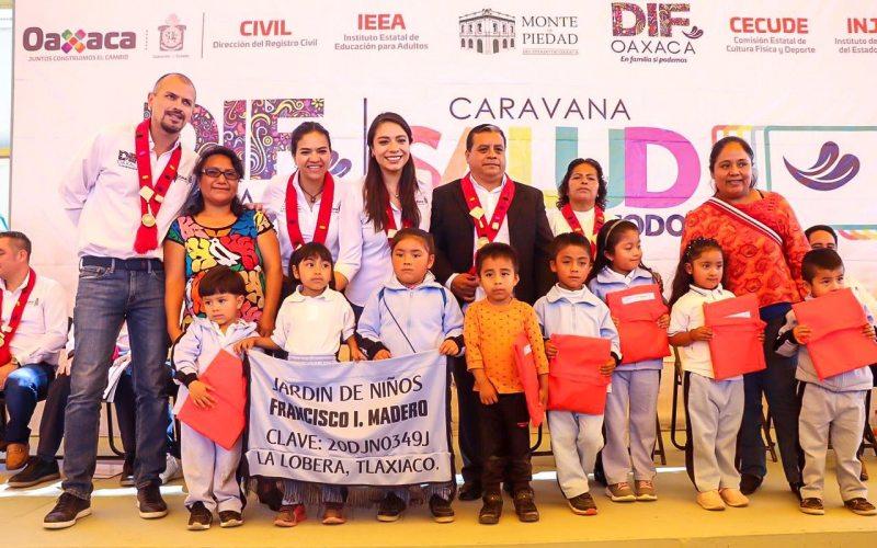 Arranca la cuarta etapa de la Caravana DIF y el programa de «Desayunos escolares fríos 2019» en la Mixteca