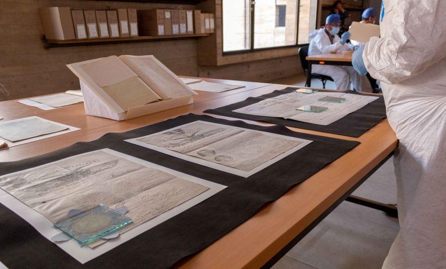 Conserva AGEO documentos históricos con la firma del General Porfirio Díaz Mori